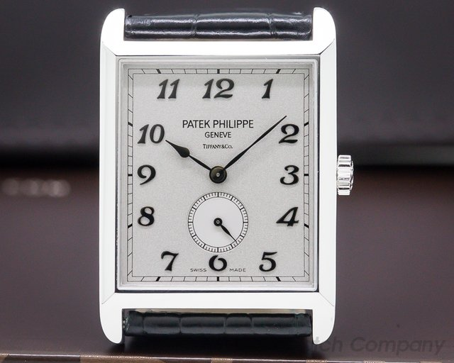 "Patek Philippe 5109G Gondolo 5109 ""TIFFANY & CO"" 18K White Gold"