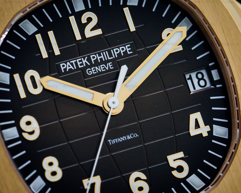 "Patek Philippe 5167R-001 Aquanaut ""TIFFANY & CO"" 18K Rose Gold / Brown Dial"