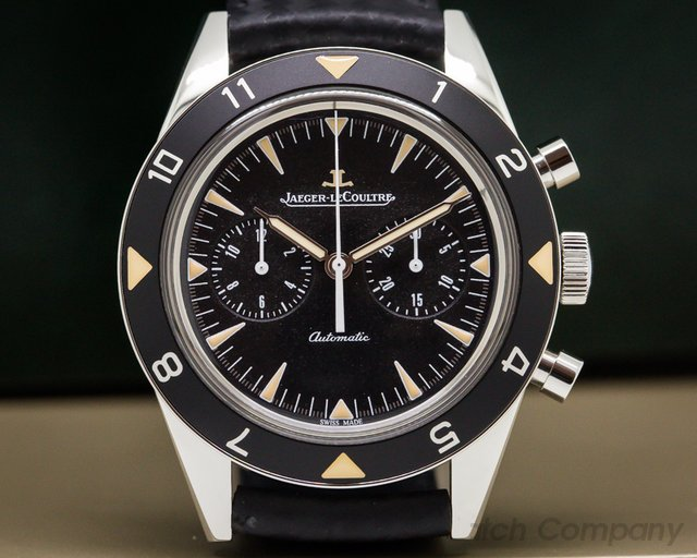 Jaeger LeCoultre 207857J Tribute to Deep Sea Vintage Chronograph