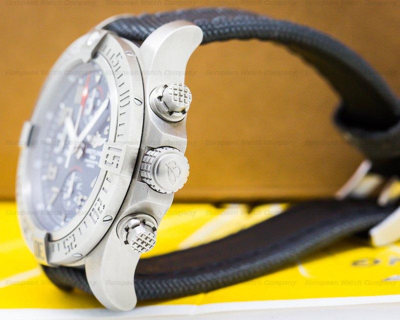 Breitling E1338310/M534 Avenger Bandit Titanium Grey Dial