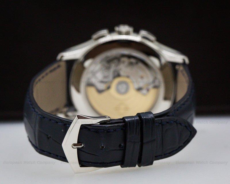 Patek Philippe 5905P-001 Chronograph Annual Calendar Platinum / Blue Dial