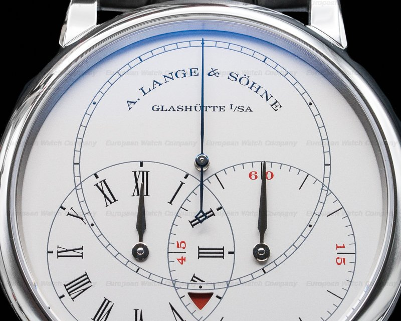 A. Lange and Sohne 252.025 Richard Lange JUMPING SECONDS Platinum Limited