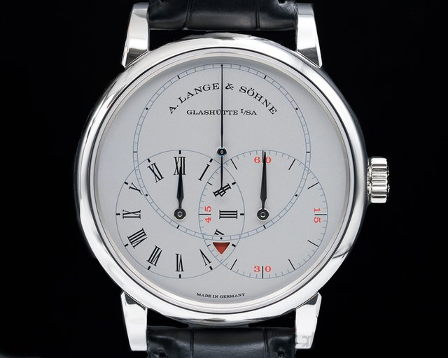 A. Lange and Sohne 252.025 Richard Lange JUMPING SECONDS Platinum Limited
