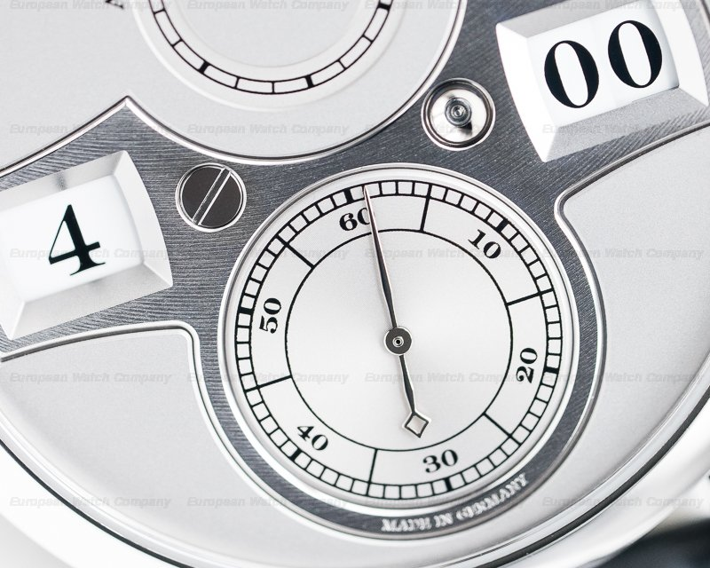A. Lange and Sohne 140.025 Zeitwerk Platinum Limited