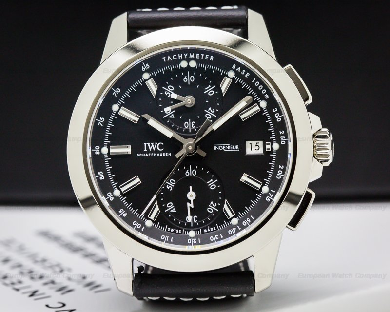 IWC IW380901 Ingenieur Flyback Chronograph Sport Titanium
