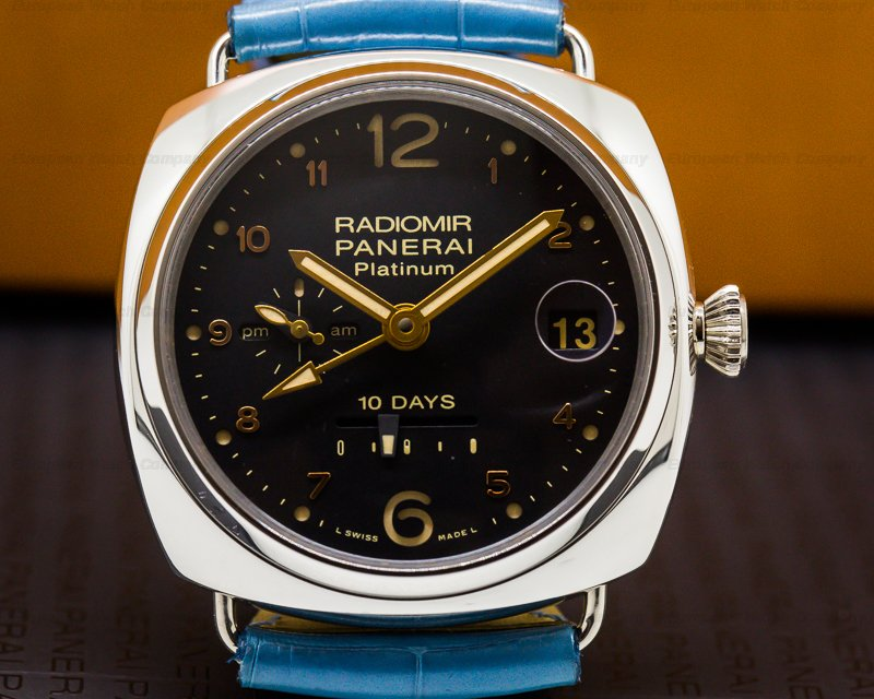 Panerai PAM00495 Radiomir 10 Days GMT Automatic Platino 45MM LIMITED