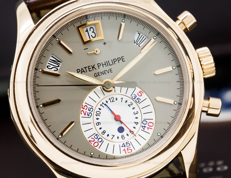 Patek Philippe 5960R-001 Annual Calendar Chronograph 18K Rose Gold