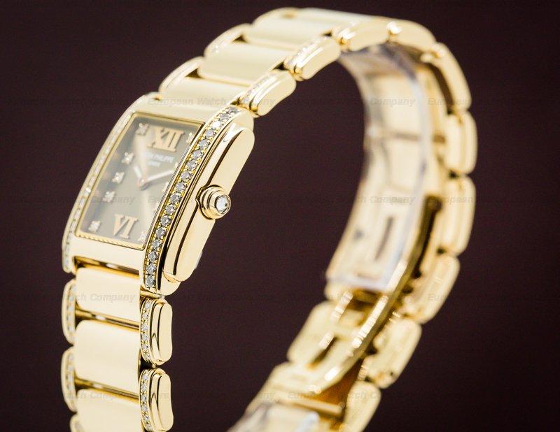 Patek Philippe 4908/30R-010 Ladies Twenty 4 18K RG / Diamond Brown Dial