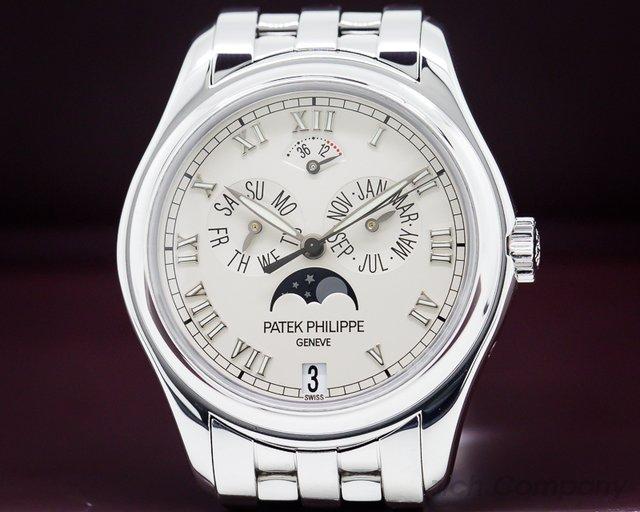Patek Philippe 5036/1G-017 Annual Calendar Power Reserve Mon 18K White Gold / Bracelet