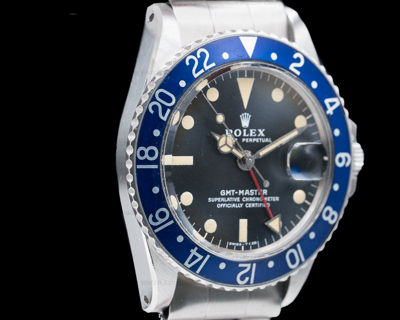 "Rolex 1675 GMT Master ""Blueberry"" MKII SS FULL SET / Punched Papers"