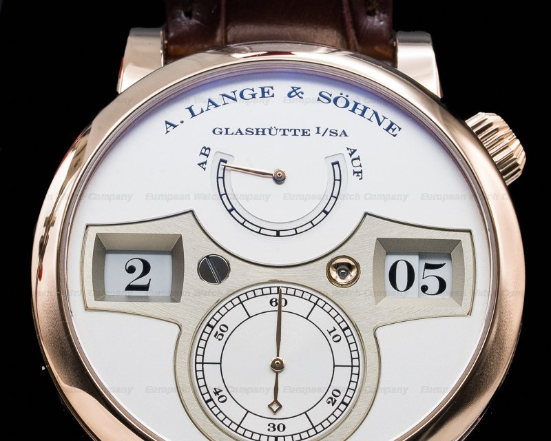 A. Lange and Sohne 140.032 Zeitwerk 18K Rose Gold