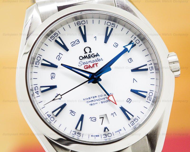 Omega 231.90.43.22.04.001 Aqua Terra Good Planet GMT Titanium