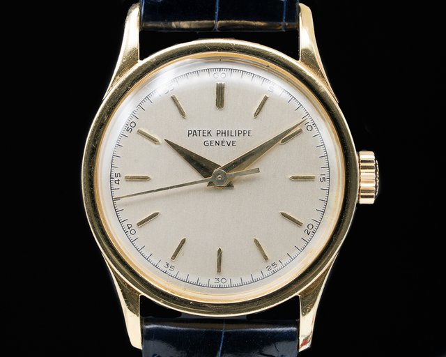 Patek Philippe 2555J Calatrava 2555 Manual Center Seconds 18K Yellow gold