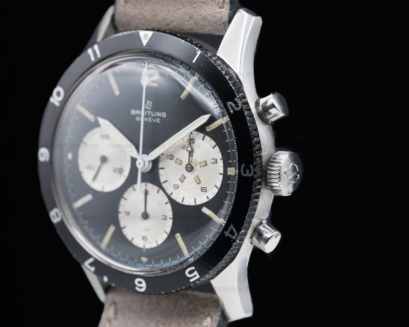 """Breitling 765 CP """"Jean Claude Killy"""" Co-Pilot Watch SS"""
