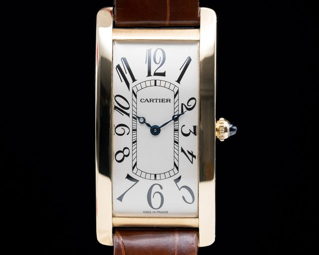 "Cartier 2718 Tank Cintree Limited to 150 Yellow Gold ""Collection Privee"""