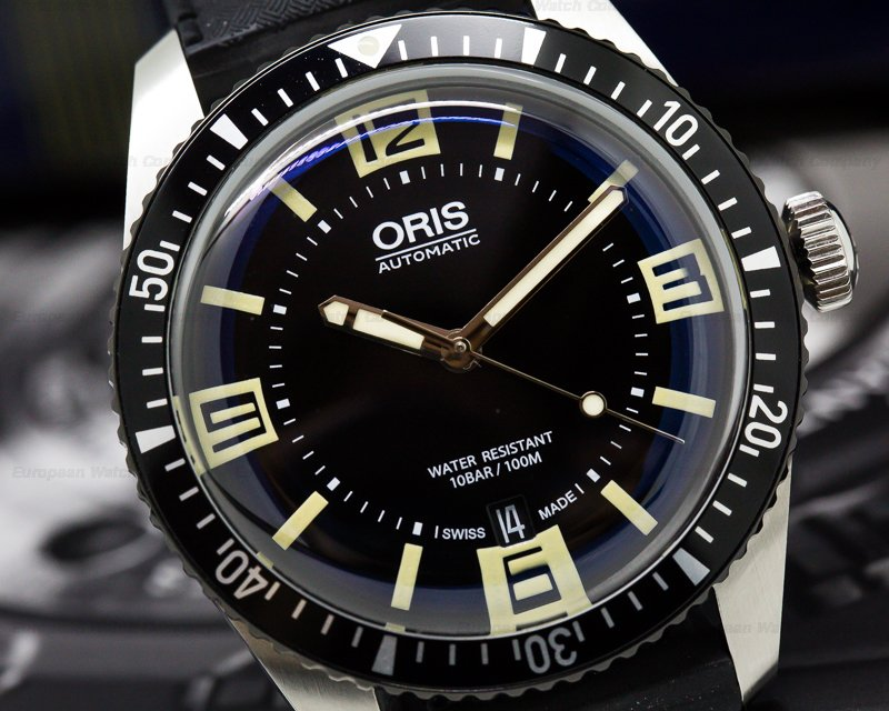 Oris 01733770740640742018 Divers Sixty Five SS Black Dial