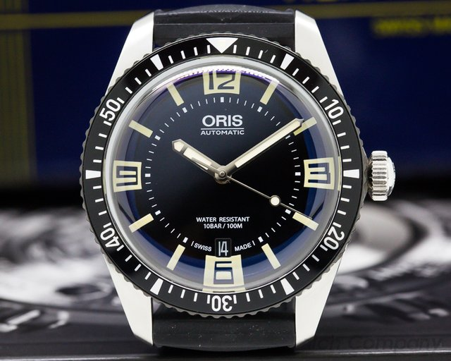 Oris 01733770740640742018 Divers Sixty Five SS Black Dial