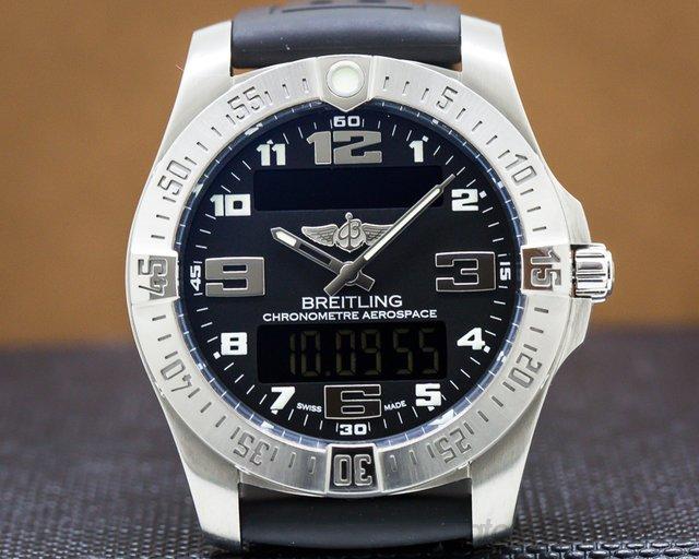Breitling E79363 Aerospace EVO Titanium /  Black Dial