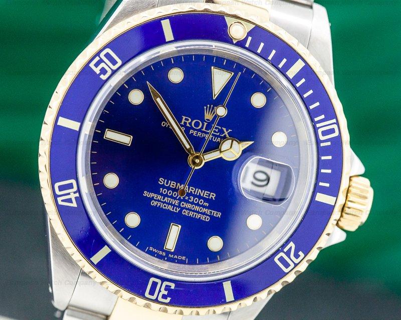 Rolex 16613 Submariner 16613 18K / SS