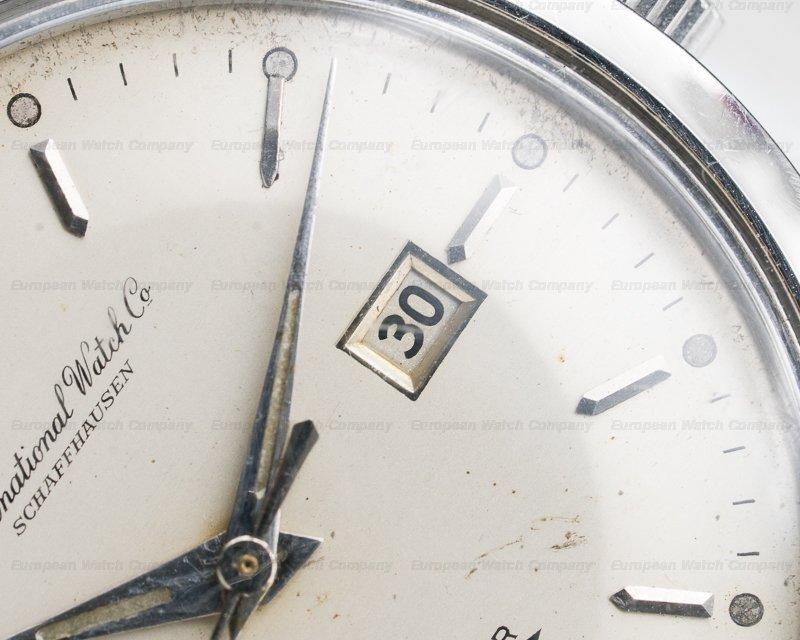 IWC 666 AD Vintage Ingenieur SS Silver Dial ORIGINAL BRACELET