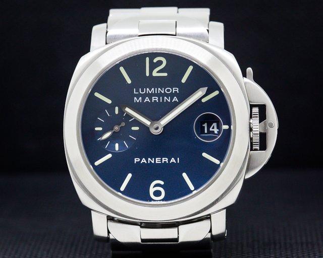 Panerai PAM00120 Luminor Marina Blue Dial SS / SS 40MM