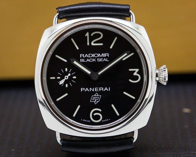 Panerai PAM00380 Radiomir Black Seal Logo SS