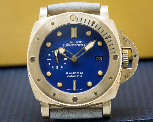 Panerai PAM00671 Luminor Submersible 1950 BRONZO 3 Days Automatic