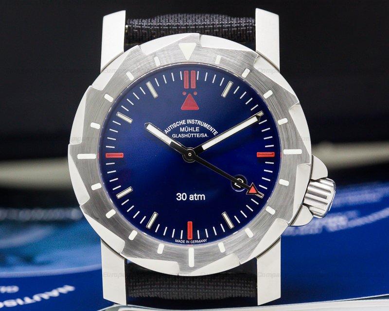 Muhle Glashutte M1-28-92-NB Kampfschwimmer SS Blue Dial