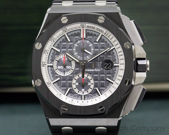 Audemars Piguet 26405CE.OO.A002CA.01 Royal Oak Offshore Slate-Grey Dial SS / Rubber