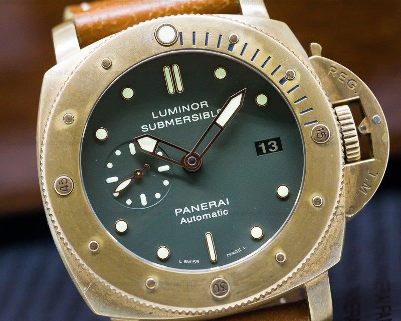 Panerai PAM00382 Luminor Submersible 1950 BRONZO 3 Days Automatic
