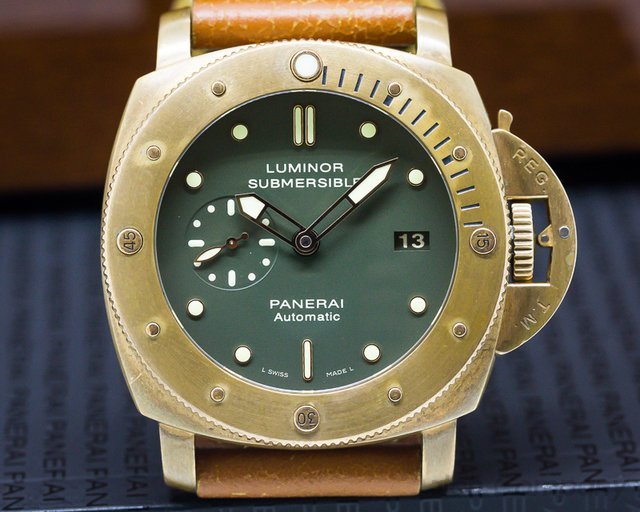 Panerai PAM00382 Luminor Submersible 1950 BRONZO 3 Days Automatic