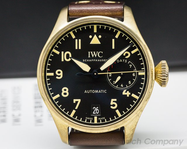IWC IW501005 Big Pilot BRONZE Black Dial