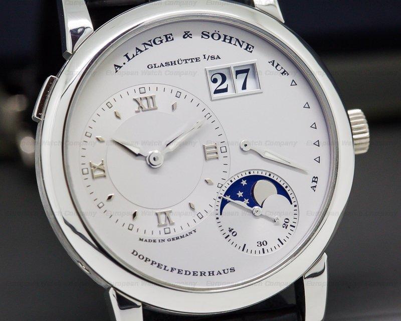A. Lange and Sohne 109.025 Lange 1 Moon Platinum / Deployment