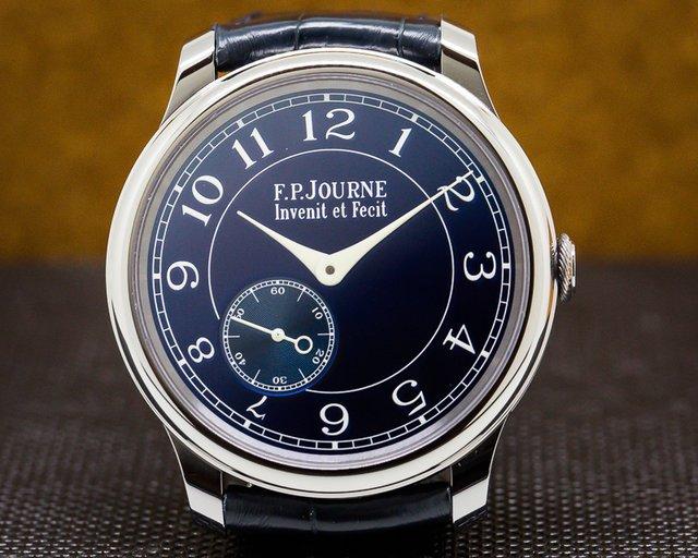 F. P. Journe  Chronometre Bleu Tantalum Blue Dial UNWORN