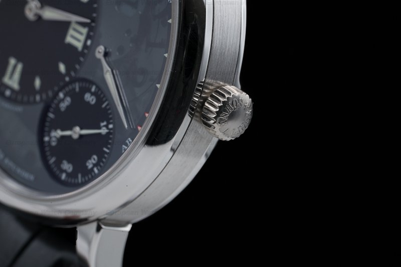 A. Lange and Sohne 117.035 Grand Lange 1 Lumen Platinum