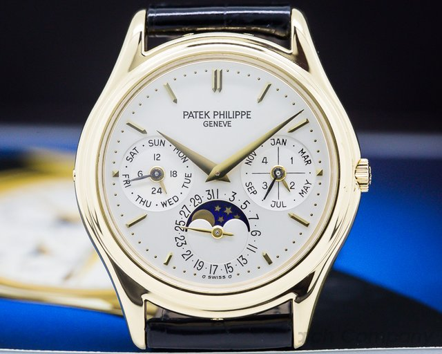 Patek Philippe 3941 Perpetual Calendar 18K Yellow Gold / Display Back
