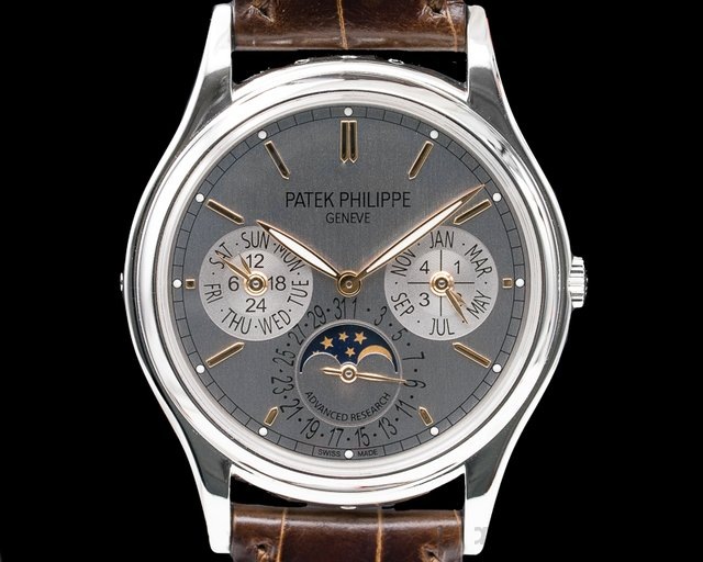 Patek Philippe 5550P-001 Advanced Research Perpetual Calendar COMPLETE
