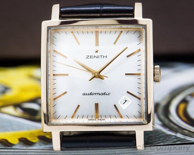 Zenith 18.1965.670.01.C506 Vintage 1965 18k Rose Gold LIMITED
