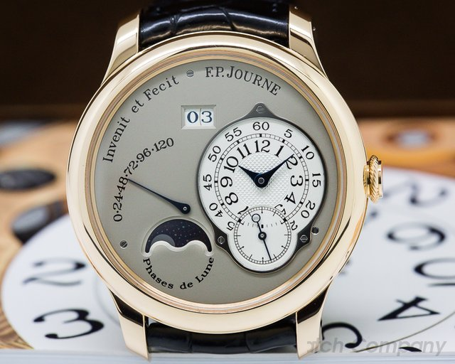F. P. Journe  Octa Lune Automatic Rose Gold / Grey Dial 40MM
