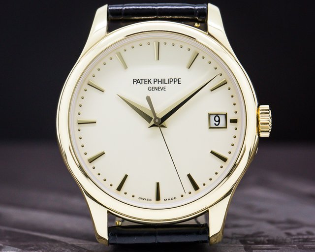 Patek Philippe 5227J Calatrava Automatic 18K Yellow Gold