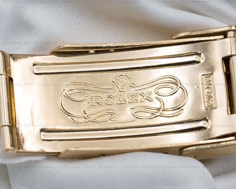 Rolex 16808 Submariner Black Nipple Dial 18K / Yellow Gold Bracelet EXCELLENT