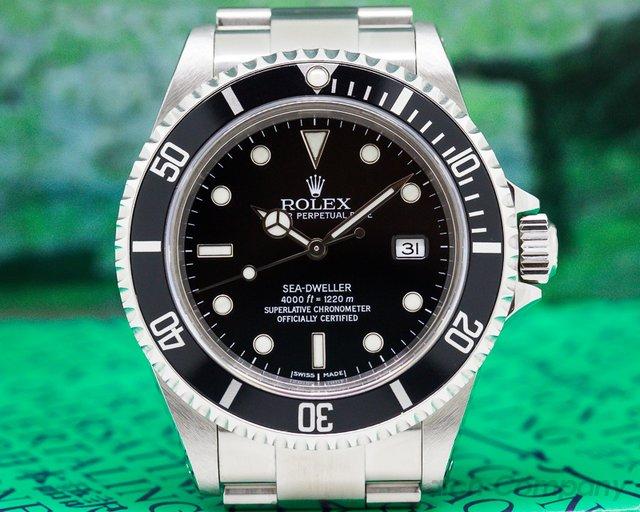 """Rolex 16600 Sea Dweller SS / SS """"Full Set"""""""