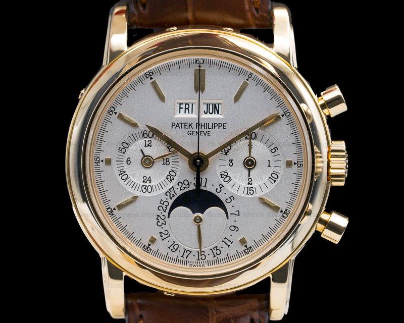 Patek Philippe 3970J Perpetual Calendar Chronograph 18K Yellow Gold (3rd Series)