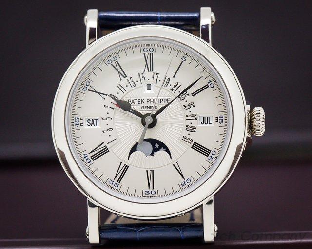 Patek Philippe 5159G-001 Retrograde Perpetual Calendar 18K White Gold