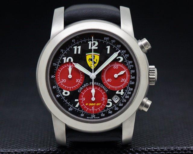 Girard Perregaux 8028 Ferrari F360 GT Chronograph Titanium Limited / Carbon Fiber
