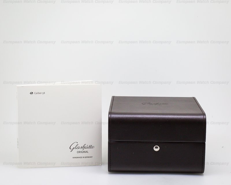Glashutte Original 58-01-01-04-04 Senator Chronometer 18K White Gold
