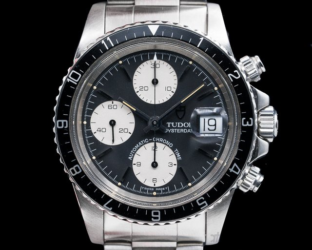 "Tudor 79170 Tudor Oysterdate Chronograph ""Big Block"" FULL SET"