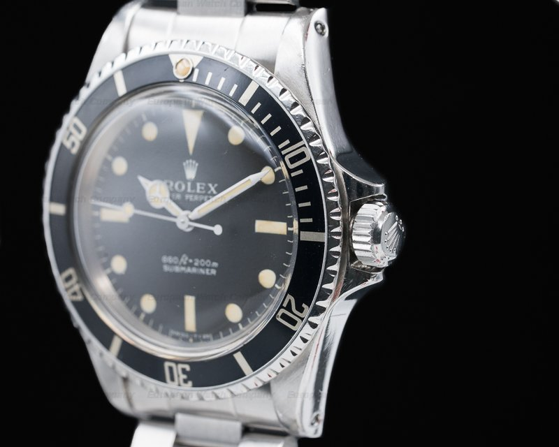 Rolex 5513 Vintage Serif Matte Dial Submariner GREAT PATINA