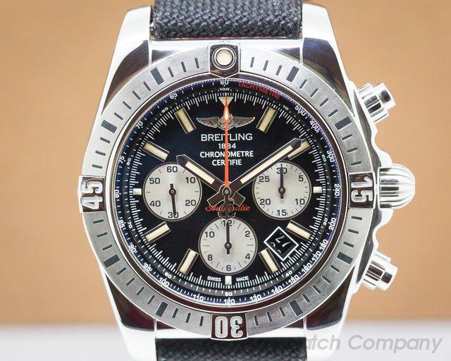 Breitling AB01154G/BD13 Chronomat 44 Chronograph SS 30th Anniversary