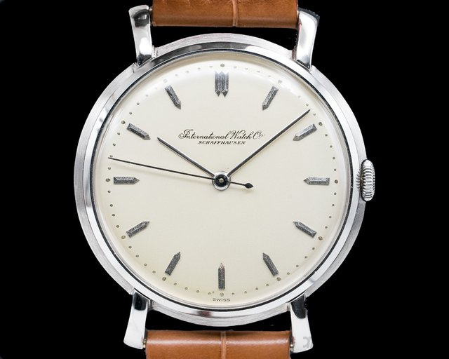 IWC  Caliber 89 Stainless Steel